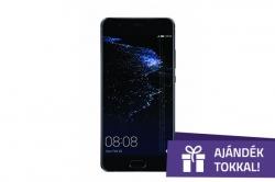 Huawei P10 Plus fekete 128 GB (51091DFL)