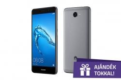 Huawei Y7 5,5'' LTE 16GB Dual SIM szürke okostelefon (51091QUB)