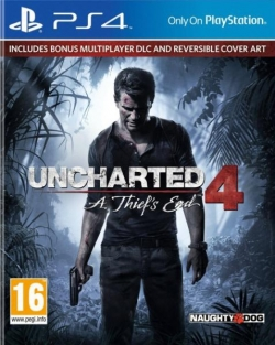 Sony Uncharted 4 A Thiefs End [PlayStation Hits] PS4 Játék (PS719418672)