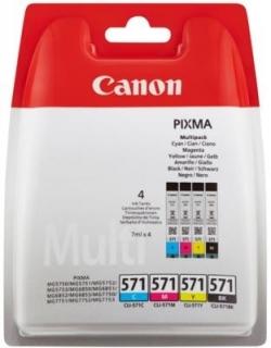 Canon CLI-571C/M/Y/BK multipack tintapatron (0386C0049