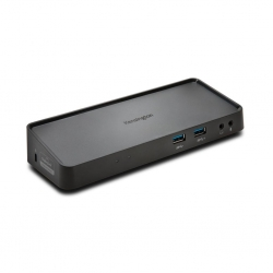 Kensington SD3650 USB 3.0 Dual Dock fekete (K33997WW)