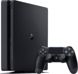 Sony PlayStation 4 500GB SLIM fekete konzol (PS719866268)