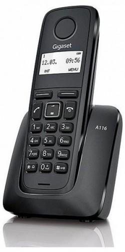 Gigaset  fekete dect telefon(S30852-H2801-R101)