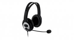 Microsoft LifeChat LX-3000 fekete mikrofonos fejhallgató (JUG-00014)
