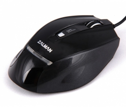 ZALMAN ZM-M400 USB optikai fekete gamer egér