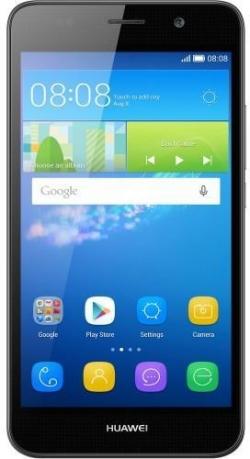 Huawei Y6 2017 DualSim 16 GB Okostelefon Szürke (51091MCF)