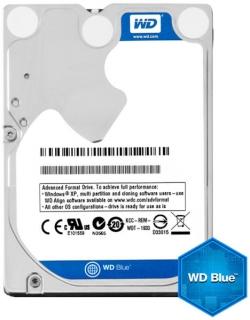 Western Digital 2,5''  belső SATAIII 5400RPM 128MB Blue  notebook winchester (WD10SPZX)