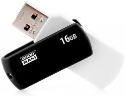 GOODRAM 16GB USB2.0 UCO2 Fekete-fehér (UCO2-0160KWR11) Flash Drive
