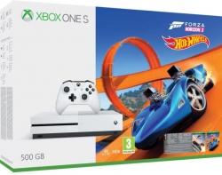 Microsoft Xbox One S 500GB konzol + Forza Horizon 3 + DLC (ZQ9-00211)