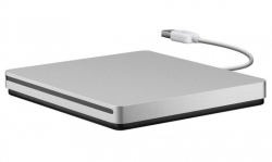 Apple SuperDrive USB DVD-író Szürke ( MD564ZM/A)