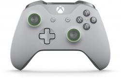 Microsoft Xbox One VEZETÉK NÉLKÜLI CONTROLLER SZÜRKE/ZÖLD (WL3-00061)