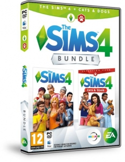 The SIMS 4 + Cats & Dogs Bundle XBOX One HU játék (1073014)