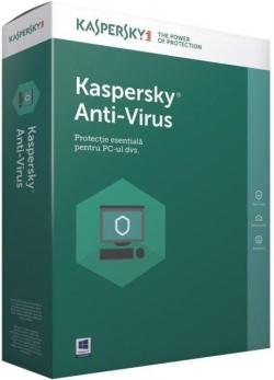Kaspersky Anti-Virus 2018 1 eszköz 1 év (KL1171X5AFS-8MSBCEE)