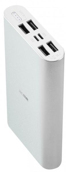 ACME  4x USB 15000mAh ezüst power bank (PB16S)