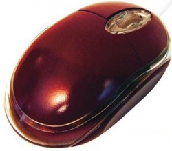 SILVERLINE OM-290 USB optikai piros egér (GESLOM290P)