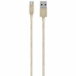 Belkin Premium Mixit arany micro USB kábel (F2CU021BT04-GLD)