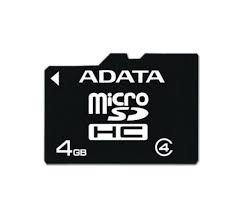 ADATA 4GB Micro SDHC Class 4 Memóriakártya (AUSDH4GCL4-R)