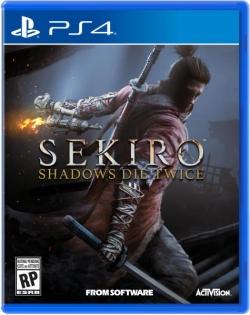 Sekiro Shadows Die Twice PS4 játékszoftver