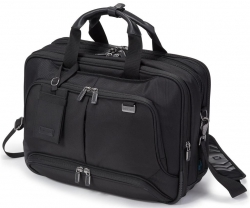 Dicota Top Traveller Twin PRO Notebook Táska 15,6'' Fekete (D30844)