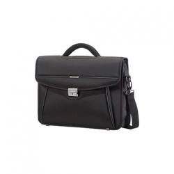 Samsonite - Desklite Briefcase 1 Gusset 15.6'' Fekete (50D-009-001)
