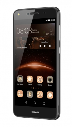 Huawei Y6 II LTE Dual Sim Fekete Okostelefon (51090PHA)