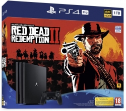 SONY PS4 KONZOL 1TB PRO + RED DEAD REDEMPTION 2 (PS719760511)