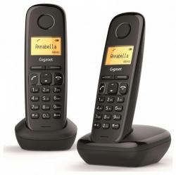 Gigaset A170 DUO DECT hívóazonosítós  telefon (L36852-H2802-S201)