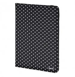 Hama Polka Dot fekete 7-8'' tablet tok  (135533)