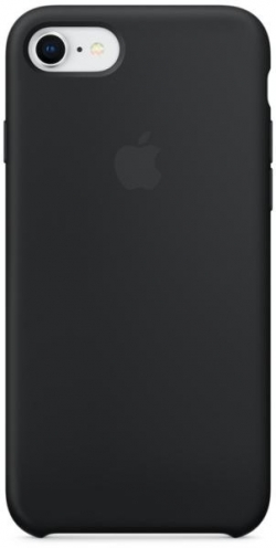 Apple iPhone 7/8 szilikontok fekete  (MQGK2ZM/A)