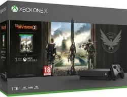 Microsoft Xbox One X 1TB + The Division 2 Játékkonzol (2805861)
