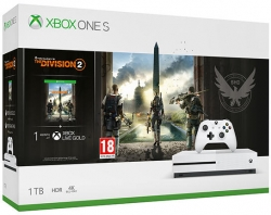 Xbox One S 1TB The Division 2