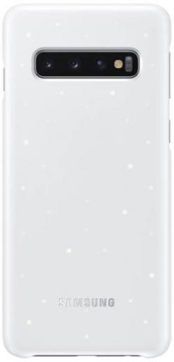 Samsung Galaxy S10 LED cover hátlap ( Fehér) (OSAM-EF-KG973CWEG)