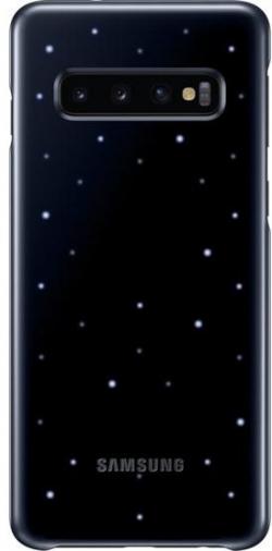 Samsung Galaxy S10 E LED cover hátlap  (Fekete) (OSAM-EF-KG970CBEG)