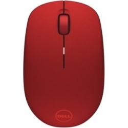 DELL WM126 wireless optikai piros egér (570-AAQE)