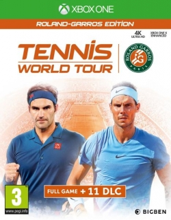 Tennis World Tour Roland Garros Edition XBOX One játékszoftver (2805953)
