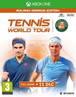 Tennis World Tour Roland Garros Edition XBOX One játékszoftver (2805953)