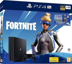 PlayStation 4 Pro 1TB Fortnite bundle v2 (PS4)