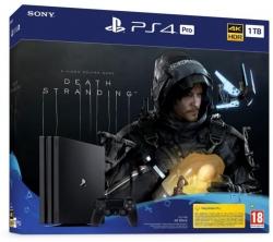PlayStation 4 PRO 1TB Konzol + Death Stranding