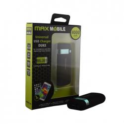 Max Mobile DUKE 4000mA power bank  (3858891941257)