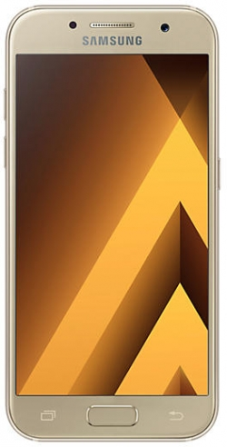 Samsung SM-A320F A3 (2017) LTE 16GB arany Okostelefon (SM-A320FZDNXEH)