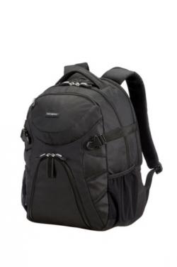 Samsonite Wanderpacks Laptop Backpack M 17'' Fekete Notebook Hátizsák (65V-019-004)
