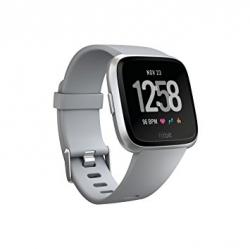 Fitbit Versa (NFC) - Black / Black Aluminum ( FITBIT-VERSA-BK-AU )
