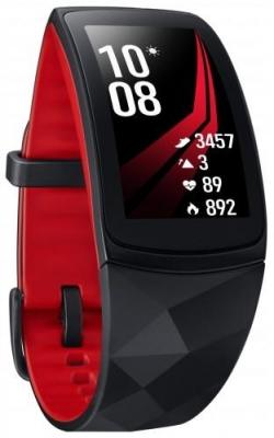 Samsung  Gear Fit 2 Pro  Bluetooth kicsi okosóra (SM-R365NZRNXEH)