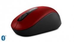 Microsoft 3600 Mobile Bluetooth BlueTrack vörös-fekete egér (PN7-00013)