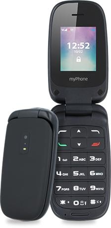myPhone Twist fekete mobiltelefon (5902983600534)