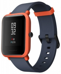 Mi Amazfit Bip smart watch  Cinnabar Red (UYG4022RT)