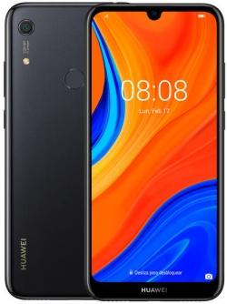 Huawei Y6s 2019 Dual Sim Éjfekete Okostelefon (51094WBS)