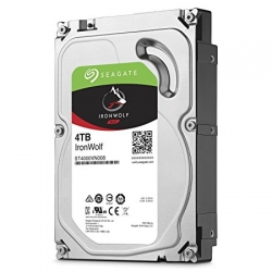 Seagate IronWolf HDD 3.5'' 4TB SATA3 5900RPM 64MB merevlemez (ST4000VN008)