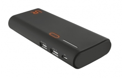 Trust Cinco  13000 Portable Charger fekete-narancs PowerBank (20496)