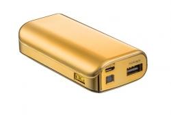 Trust 20901 4400 Portable Charger arany PowerBank